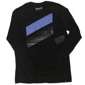 Hurley Aztec Lines Long Sleeve Shirt NWT